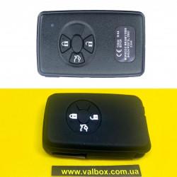 TOYOTA чехол силиконовый для ключа 3- кнопки