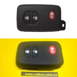TOYOTA lc200-Prius-pardo чехол силиконовый для ключа 3-кнопки