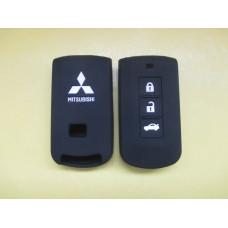 Силиконовый чехол Mitsubishi для смарт ключа 3 кнопки