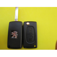 Корпус ключа Peugeot 2 kn лезвие VA2