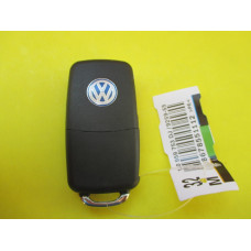 Корпус ключа Volkswagen выкидной ключ 2 кнопки лезвие HU66