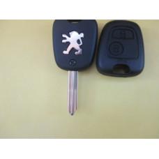 Peugeot корпус ключа 2knopki Лезвие SX9
