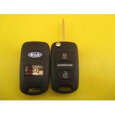 KIA SPORTAGE выкидной ключ (корпус) 3 - кнопки