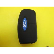Силиконовый чехол для  ключа Ford выкидной
