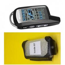 iCODE 06/07/07RS Кожаный чехол для брелка автосигнализации