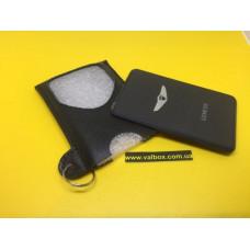 hyundai genesis кожаный чехол для ключа карта, ключ карта