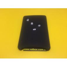Чехол (силиконовый) для смарт карты RENAULT (Рено) 4 кнопки